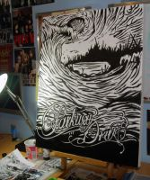 Parkway Drive WIP by robbyphills