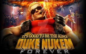 Duke Nukem Tribute by Wesker500