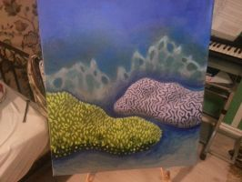 Coral Reef (work in progress) by Serpent3