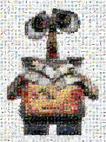 WALL E Mosaic by Cornejo-Sanchez