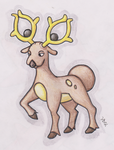 Stantler by Shabou
