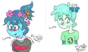 Luke and Lana being cute by Kittychan2005