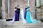 Princesses of the Outer Planets by Kairi-Heartless