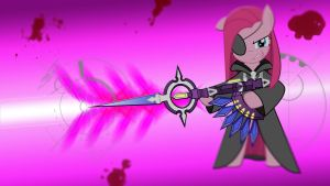 Wallpaper Pinkie Shooter KH by Barrfind