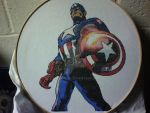 Captain America Cross-Stitch by saber4734