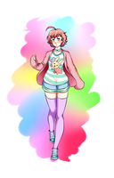 OC design for Carbonated-Stardust by MaruHimeChan