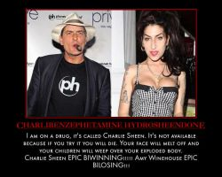 Charlie Sheen vs Amy Winehouse by MexPirateRed