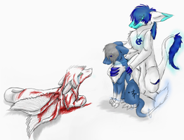 Lost in a blur of blood by snoopythesmarty