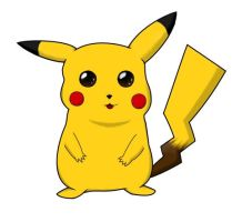 Pikachu - Coloured by Hidden-Insanity