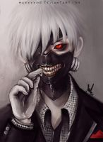 Tokyo Ghoul by Maxineisreallydead