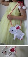 Easter Bunny Purse by Brookette