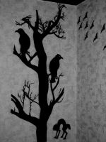 Creepy Crows by zzSnowWhiteQueenzz