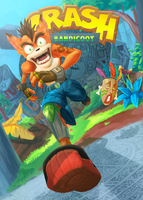 Crash Bandicoot Redesign by Fabulla