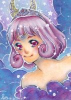ACEO . Ameluna by naachi