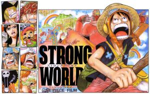 One Piece StrongWorld Wolpaper by garrysempire