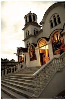 Greek Orthodox church by abus