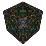 The Court of Edges in cube form (textured) by Manroose