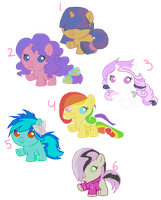 Mlp Oc: Baby Ship Adoptables CLOSED C': by StarlightTreasure
