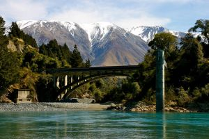 Mountains in New Zealand by hollygy1