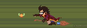 279/365 pixel art : Harry Potter by igorsandman