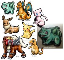Pokemon magnets for sale! by Linzu