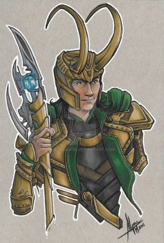 Loki Scan by AlexxiaTM