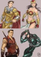 Filipino Super Heroes by jaeon009