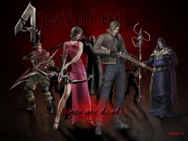 Resident evil 4 Wallpaper by nightwingdragon