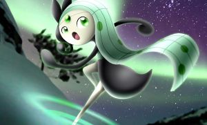 Shiny Meloetta Aria Form by cscdgnpry