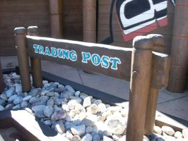 EPCOT: Trading Post sign by wilterdrose-stock