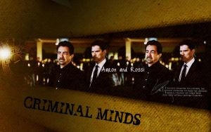 CM Hotch and Rossi by Anthony258