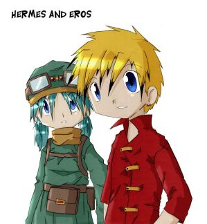 Hermes and Eros