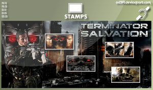 Stamps - 2009 - Terminator Salvation by od3f1