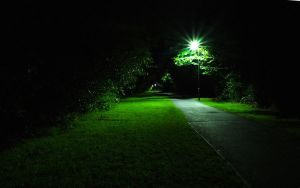 cycle path by night by adamstephensonscfc