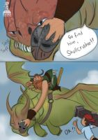 How to train your dragon 2 unmasked by DavidAdhinaryaLojaya