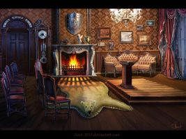 Room in Victorian`s style by Azot2014