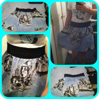 Alice In Wonderland Skirt by Voldenae