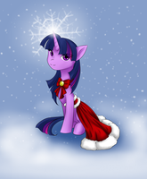 Christmas Twilight by 8bitsofmagic