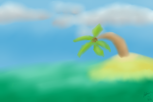 Background practise! by NoodleSuperPot