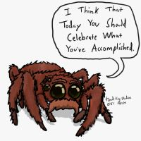 Cute Spider Bounce gif by toadking07