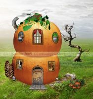 My Pumpkin House by Lissaburd