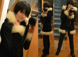 Izaya Orihara Cosplay Jacket by Abiadura