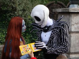 Jack and Sally - Autographs 1 by astakaren