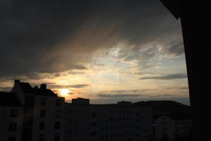 sky from my window by DanielaRichter