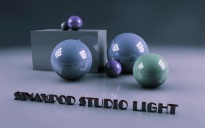 Studio light 1 by sinaxpod