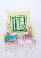 Window by rainbow-color