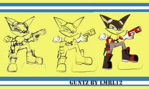 Guntz - from sketch to Color by lmrl12