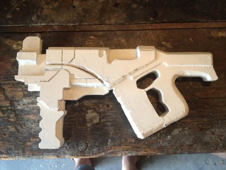 M-12 Locust: Primed and Ready! For more sanding. by Boris-The-Animal