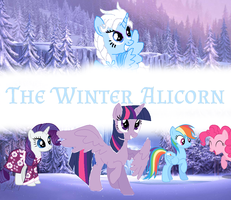 The Winter Alicorn Cover 1 by Mathew-Swift-VA