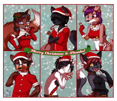Candy Cane Gifts by CaramelKitt